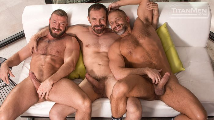 Hunter Marx Dirk Caber Max Sargent Gay Porn TitanMen 3