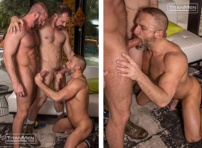 Hunter Marx Dirk Caber Max Sargent Gay Porn TitanMen 6