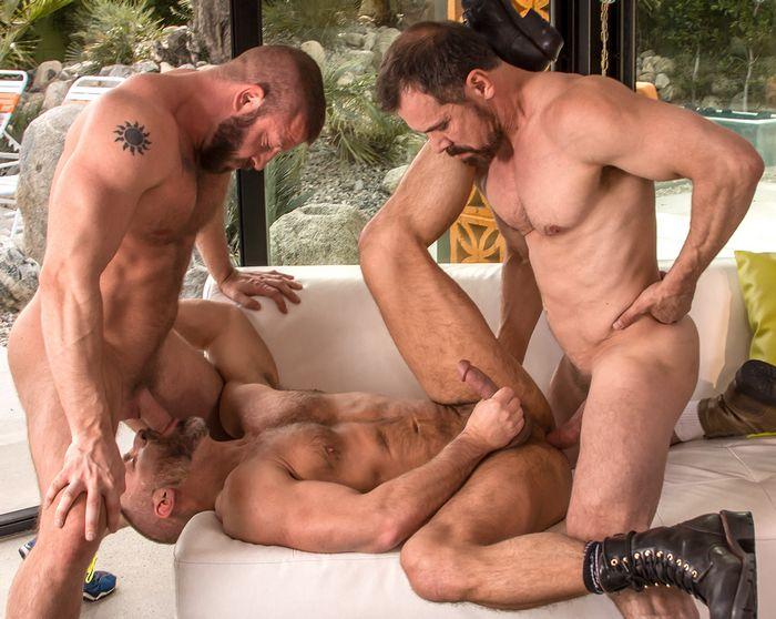 Hunter Marx Dirk Caber Max Sargent Gay Porn TitanMen