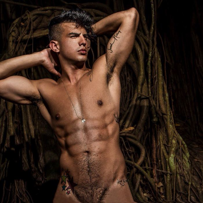 Leo Fuentes Gay Porn Star Naked