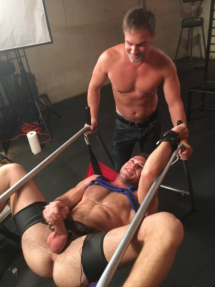 Alex Mecum Tyler Rush Kristopher Weston KinkMen Gay Porn 3