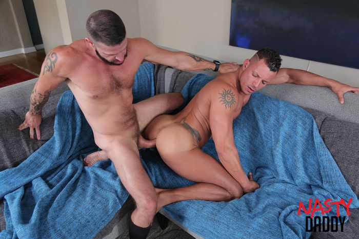 Angelo Marconi Bareback Gay Porn Tex Davidson NastyDaddy