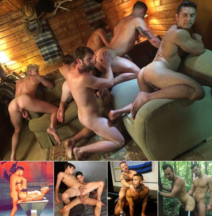 Gay Porn Colby Keller Seth Santoro Scott DeMarco Trey Turner