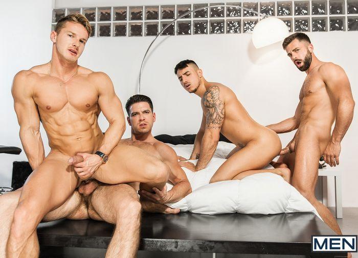 Gay Porn Orgy Paddy OBrian Darius Ferdynand Klein Kerr Hector de Silva