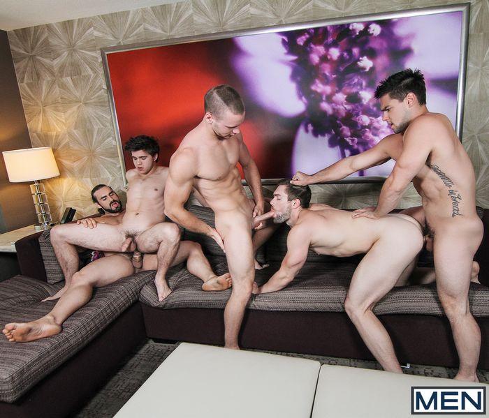 Gay Porn Orgy Vegas Aspen Brandon Evans Griffin Barrows Jaxton Wheeler Will Braun
