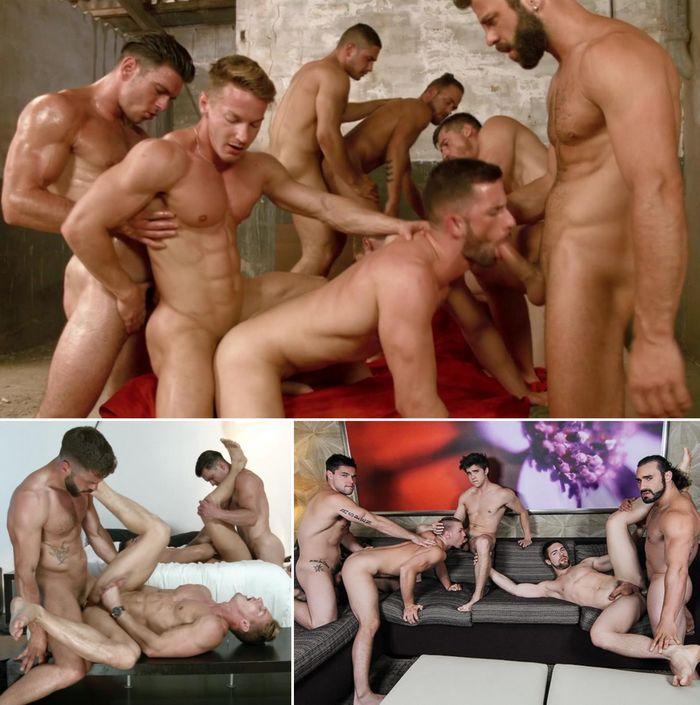 Gay Porn Orgy XXX