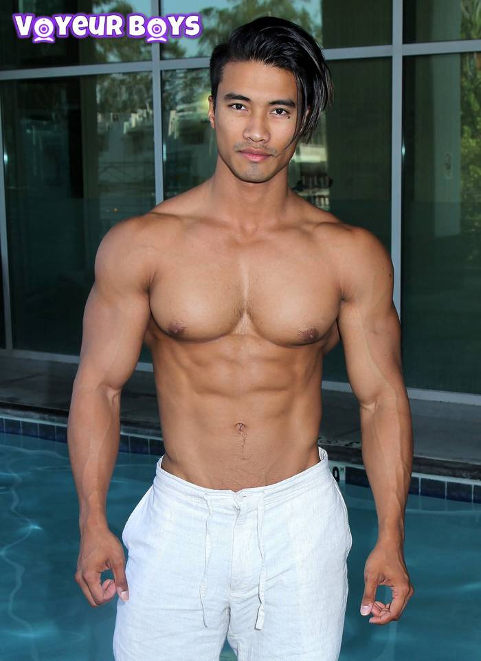 Muscle hunks asian