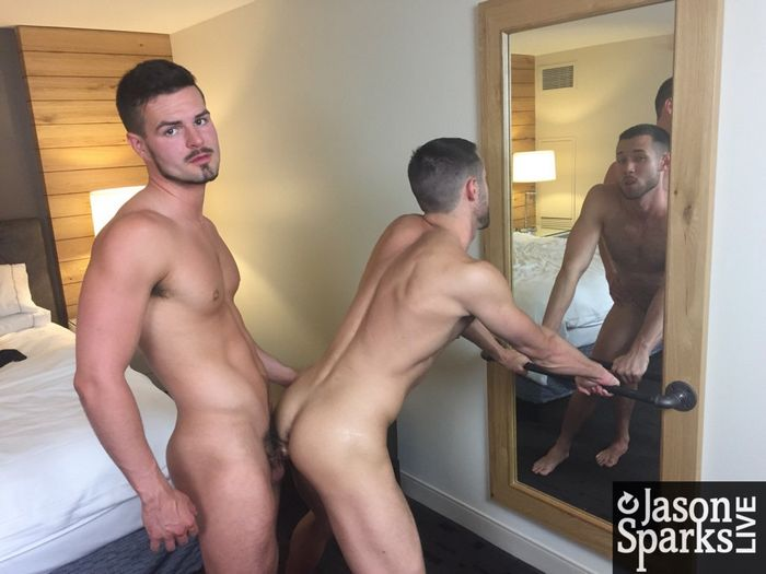Kyle Steele Cash Lockhart Gay Porn Bareback BTS 2