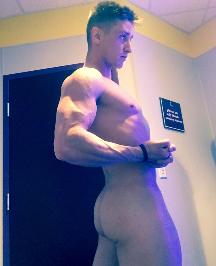 Lance Ford Gay Porn Star Naked Selfie 1a
