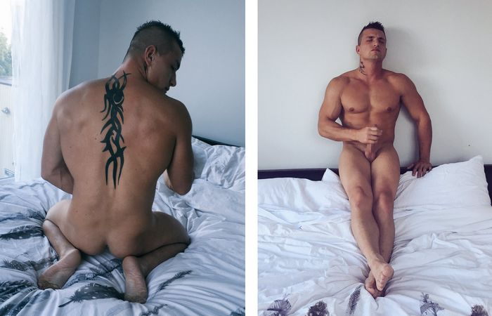 Men of Montreal Naked Hunk Tony 1
