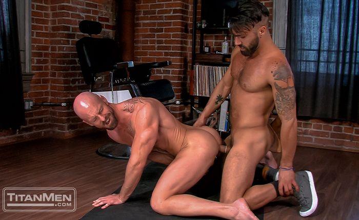 Mitch Vaughn Gay Porn Adam Ramzi TitanMen