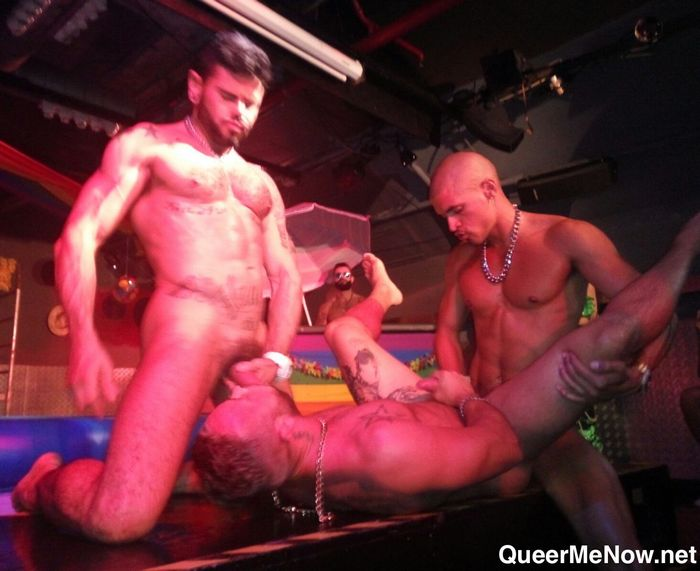 Gay sex show barcelona