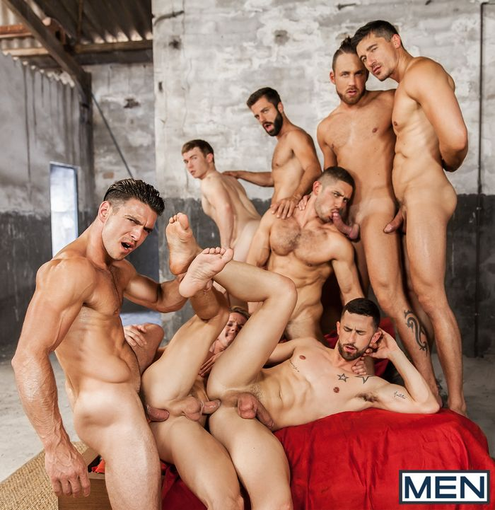 Gay group fuck