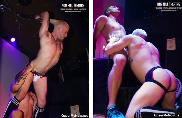 Gay live sex in theatre