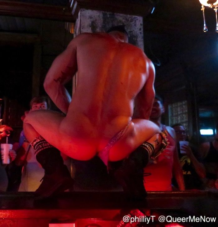 CockyBoys Gay Porn Stars GoGo Dance Southern Decadence 2016 13
