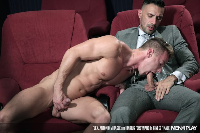 muscle bottom darius ferdynand gets fucked by suited flex