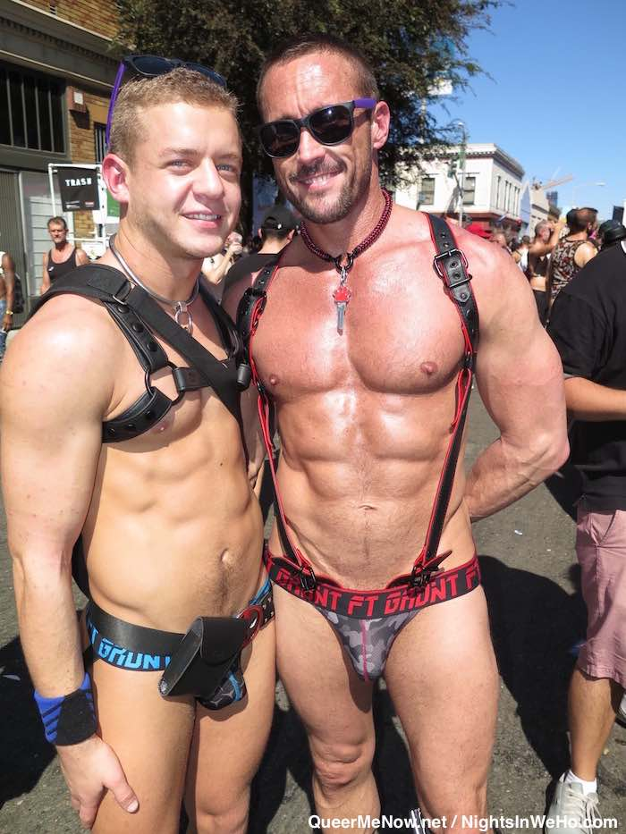 With porn tsars at folsom street fair