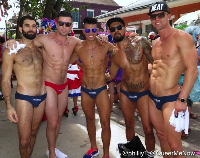 Gay Porn Stars Swiss Navy Parade Southern Decadence 2016