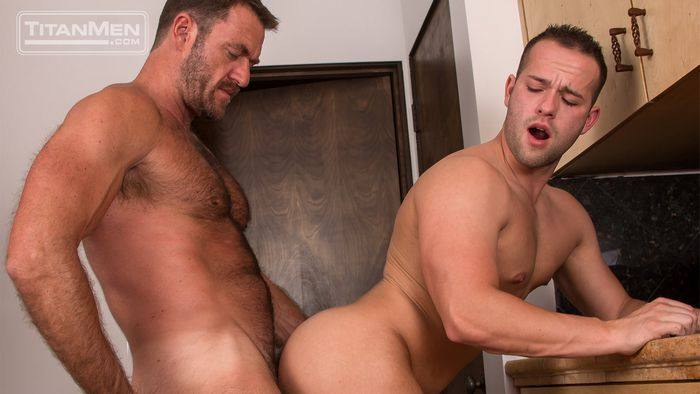 Luke Adams Gay Porn Anthony London TitanMen Say Uncle