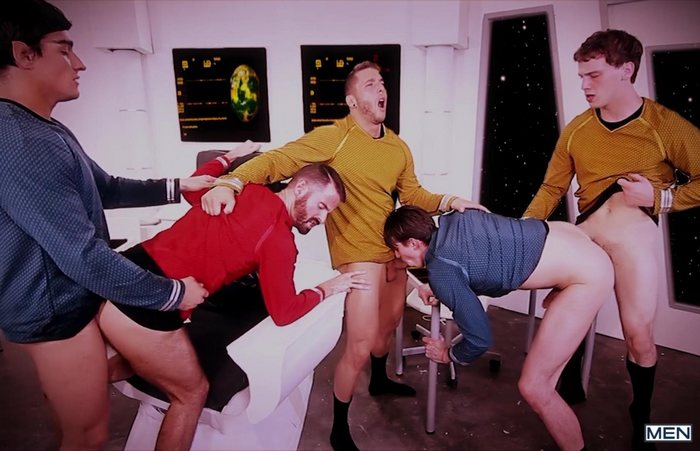 Star trek sex parody