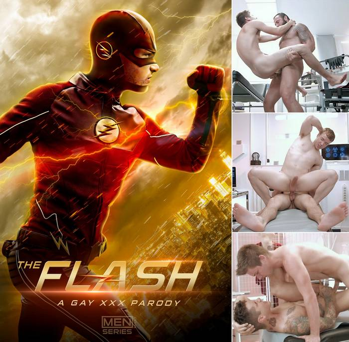 the-flash-gay-porn-xxx-parody-johnny-rapid-jessy-ares-gabriel-cross-pierre-fitch