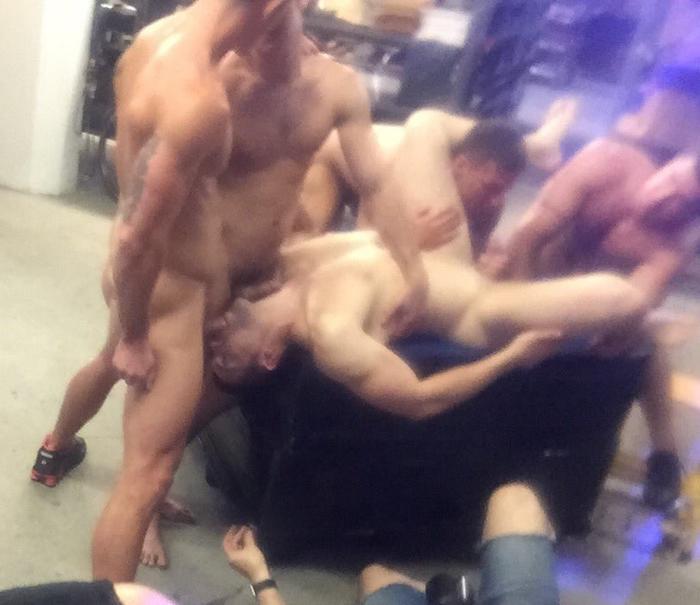urban slang gay orgy