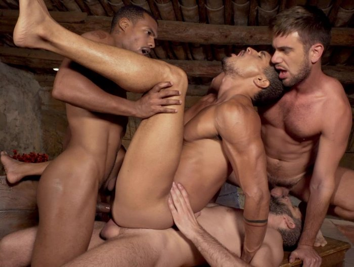 Gay Porn Bareback Double Penetration Ibrahim Moreno Jacen Zhu Wolf Rayet