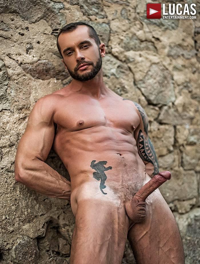 Tyler Berg Gay Porn Star Naked Big Dick LucasEntertainment