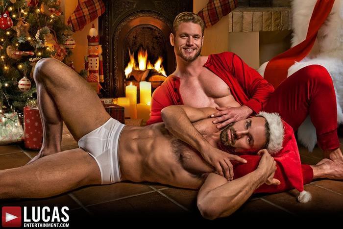 Sexy santa gay porno