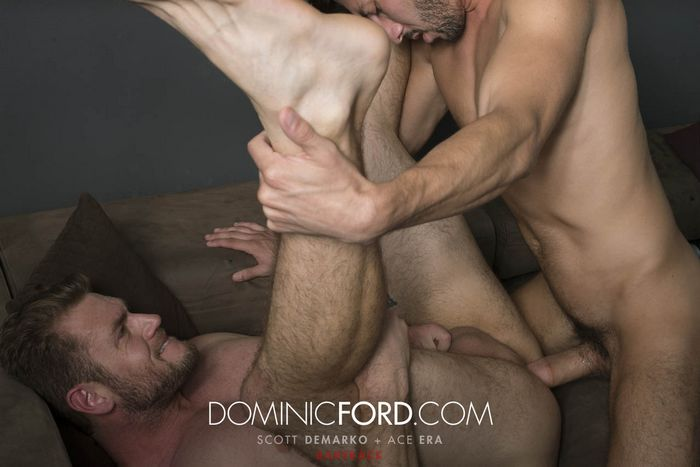 Ace Era Gay Porn Bareback Sex Scott DeMarco DominicFord
