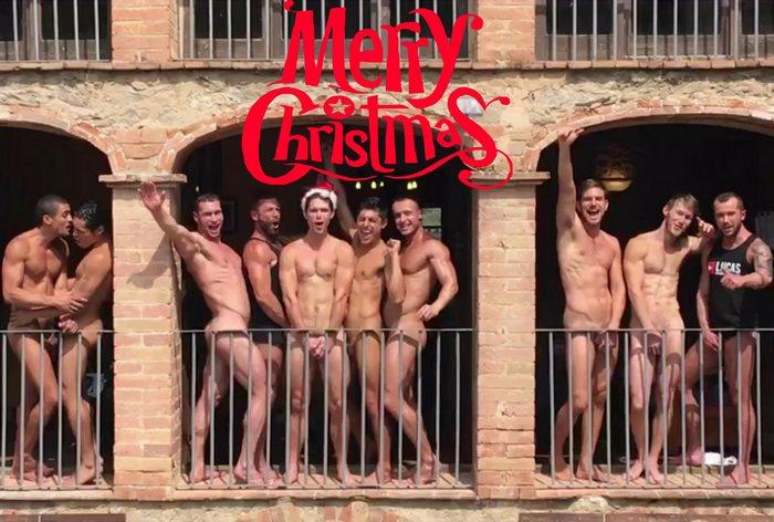 Gay Porn Stars Naked Merry Christmas