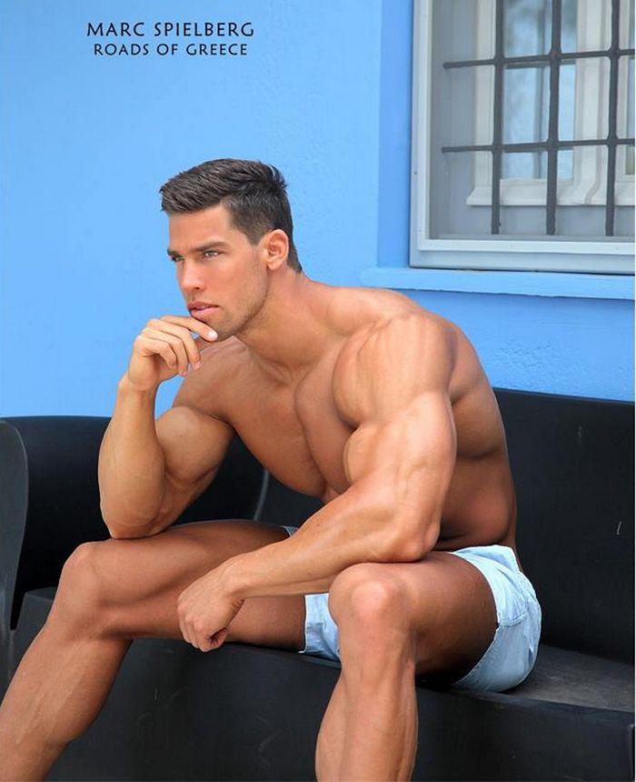 Kris Evans BelAmi Gay Porn Star Bodybuilder Muscle Hunk 1
