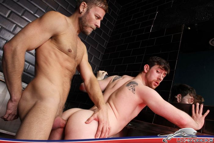 Matt Anders fucks Anthony Naylor Gay Porn