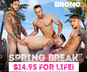 Bromo Gay Porn Spring Break Sale