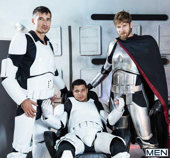 Star Wars Force Awakens Gay Porn Parody Captain Phasma Stormtrooper Finn
