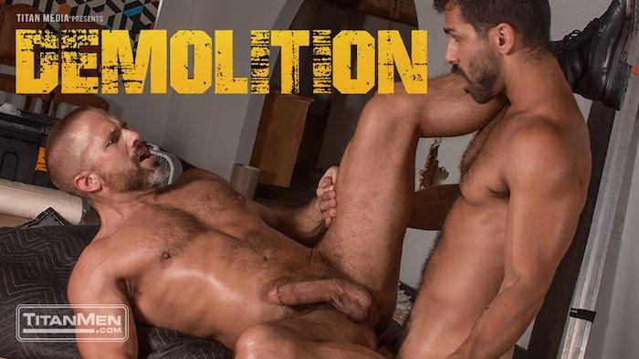 Adam Ramzi Gay Porn Dirk Caber Demolition TitanMen