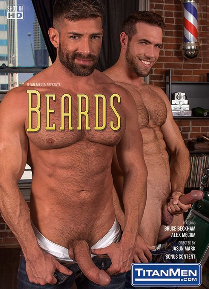 Bruce Beckham Gay Porn Alex Mecum TitanMen BEARDS