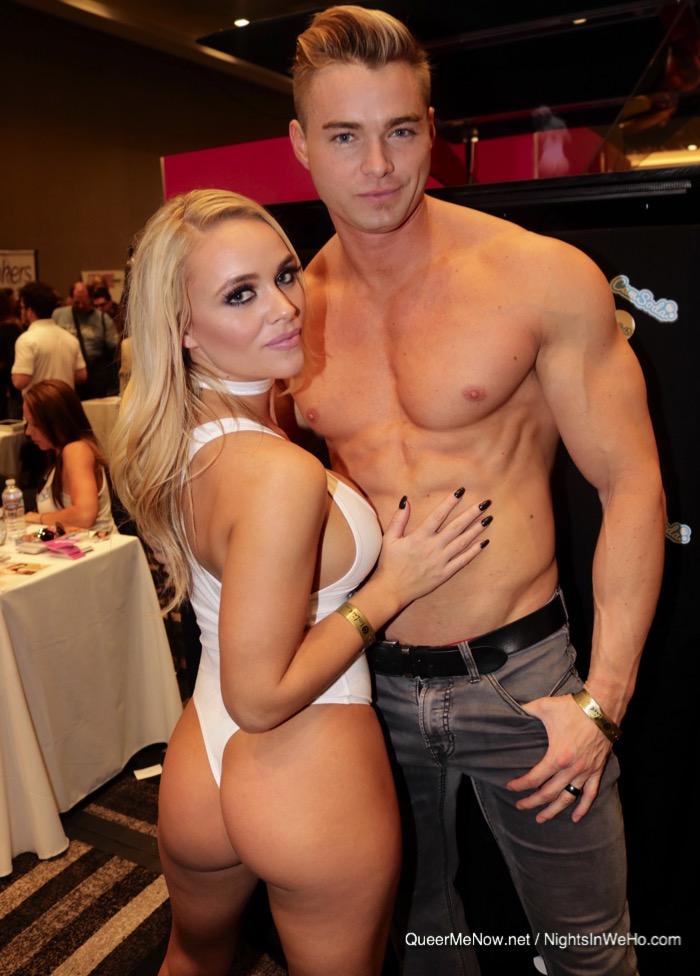 Colin Hart Connor Corbin Fisher Porn Star Alexis Monroe AVN Expo 2017
