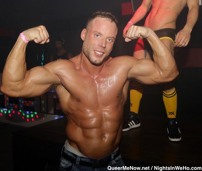 Jack Sean Cody Gay Porn Star Bodybuilder HustlaBall Las Vegas Flair Nightclub 1