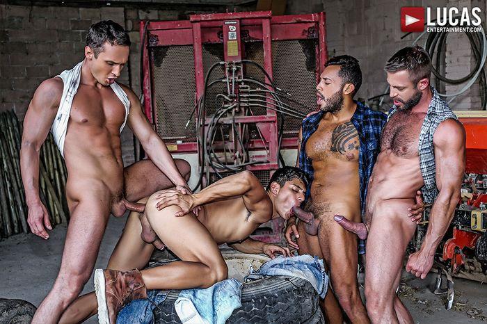 Ken Summers GangBang Gay Porn Alex Kof Bulrog Viktor Rom