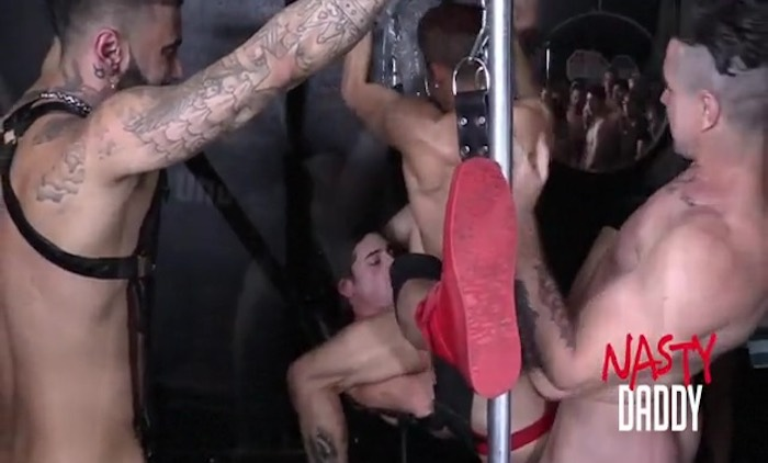 Trenton Ducati Gay Porn Armond Rizzo Rikk York Taylor Reign Bareback Orgy