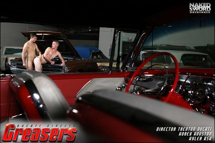 Trenton Ducati Gay Porn Kyler Ash Korey Houston Nakedsword Greasers