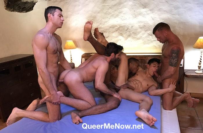 Gay Porn Orgy Sean Xavier Ken Summers Logan Rogue Dani Robles Ralph Novak