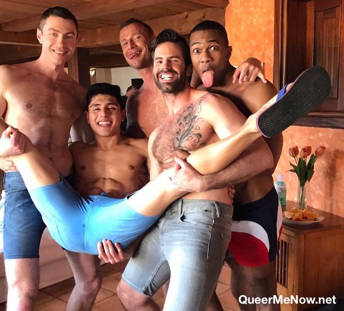 Gay Porn Stars Sean Xavier Ken Summers Logan Rogue Dani Robles Ralph Novak