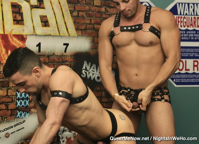 HustlaBall Las Vegas Gay Porn Jacob Taylor Josh Milk