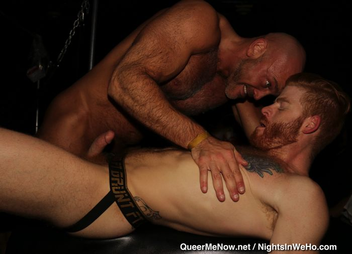 Suck their gay male strip clubs las vegas cum together