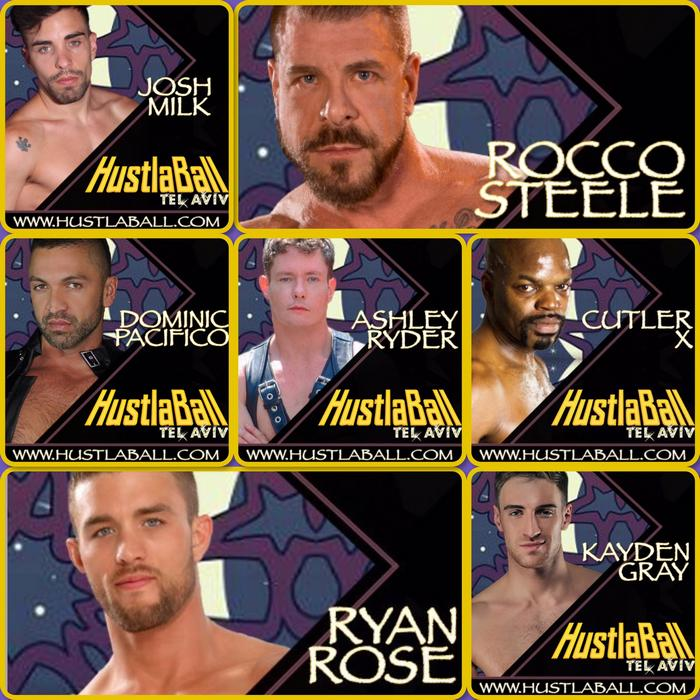HustlaBall Tel Aviv Gay Porn Stars