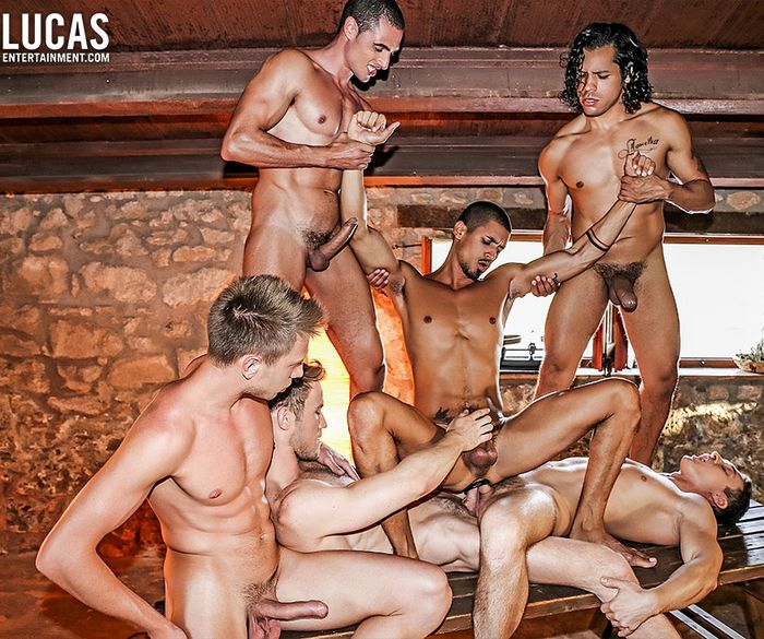 Ibrahim Moreno Gay Porn Bareback Double-Penetration Orgy Marq Daniels Bogdan Gromov Alejandro Castillo Javi Velaro Alex Kof