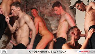 Kayden Gray Fucks Billy Rock