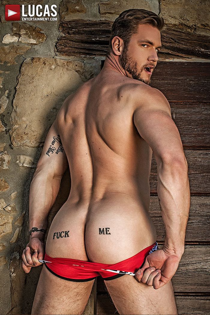 Ace Era Gay Porn Star Butt Bottom Fuck Me Tattoo